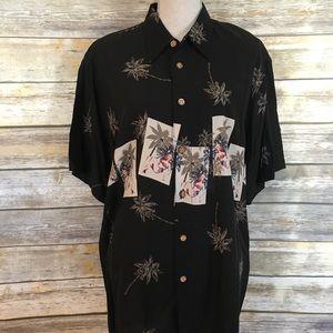 Ron Chereskin Pin Up Girl Hawaiian Shirt, Sz L